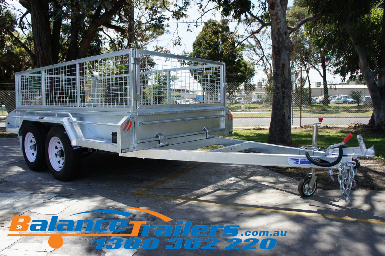 9×5 Heavy Duty Fully Welded Tandem Trailer ATM 3200KG (Model No: BT95TWE)