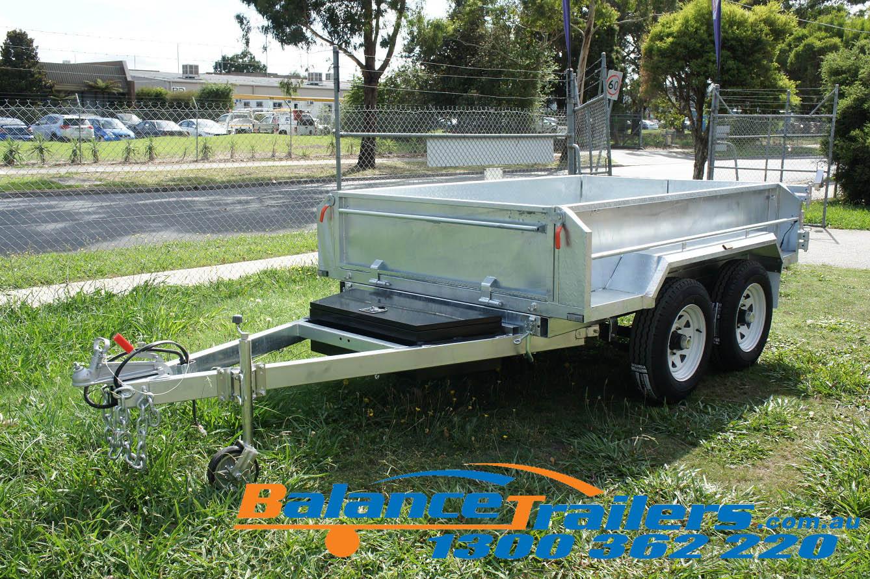 8×5 Galvanised Hydraulic Tandem Tipper Trailer ATM 3200KG (Model: BT85HTE)