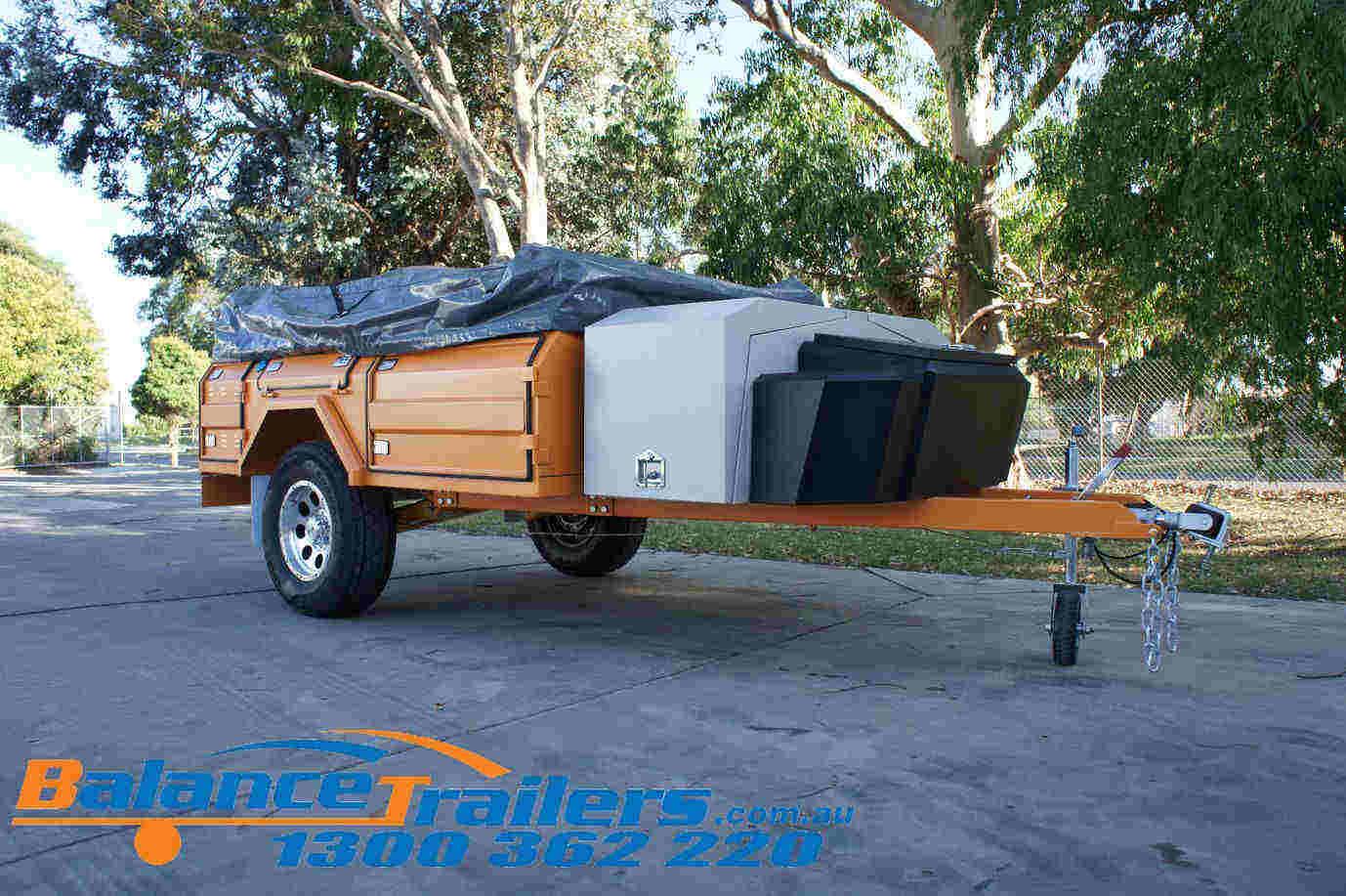 Walk-in Design Off Road Soft Floor Camper Trailer (Model No: BT01SF)