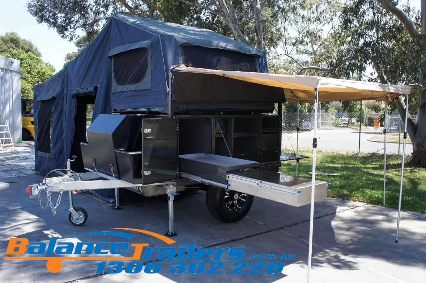 BT02SF Soft Floor Camper Trailer Image 21
