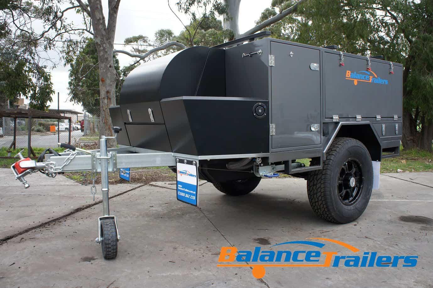 Compact Mini Design Off Road Soft Floor Camper Trailer (Model No: BT02SF)
