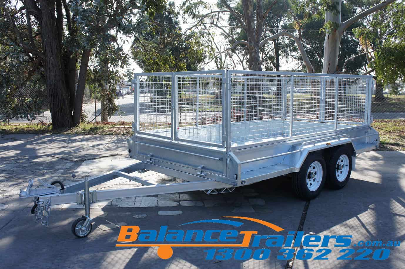 12×6 Heavy Duty Fully Welded Tandem ATM 3200KG (Model No: BT26TWE)