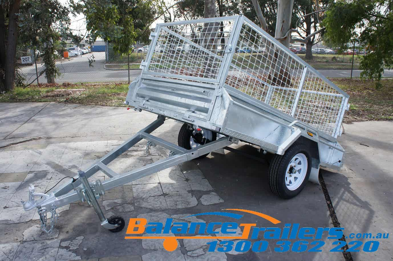 BT74FWT Single Axle Trailer Image 12