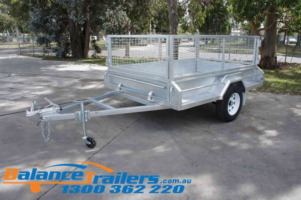 8×5 Heavy Duty Single Axle Trailer With Brake ATM1400kg (Model No: BT85FWB)