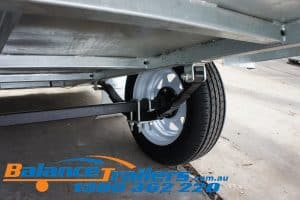 BT85FWR Single Axle Trailer Image 16