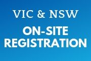 onsite registration for VIC roads and NSW